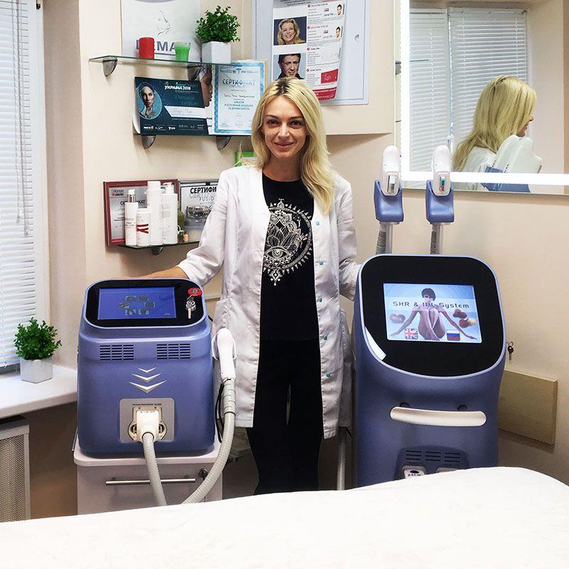 ЭЛОС и Диодные аппараты для эпиляции